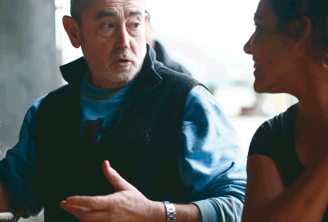 Iñaki, recientemente jubilado, ha trabajado 45 años como carnicero y ganadero