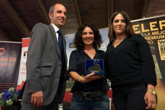 Nerea Aramburu et Miren Celaya ave  le prix Mas Gastronomia.